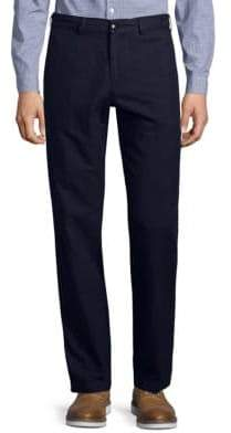 Dries Van Noten Flat Front Trousers