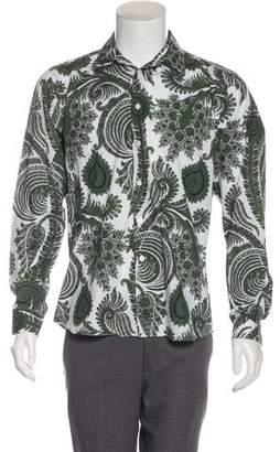 Givenchy Leaf Print Shirt