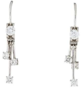 Roberto Coin 18K Diamond Drop Earrings