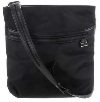 Tumi Leather-Trim Crossbody Bag