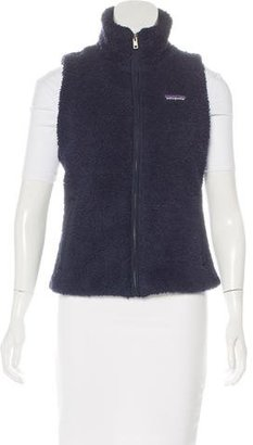 Patagonia Zip-Up Fleece vest $80 thestylecure.com