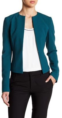 BOSS HUGO BOSS Long Sleeve Solid Blazer $445 thestylecure.com