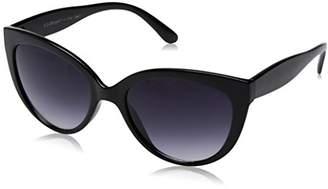 A. J. Morgan A.J. Morgan Women's Honey Rectangular Sunglasses