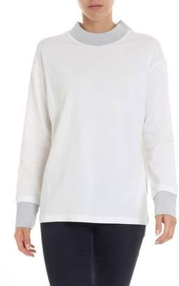 Fabiana Filippi Lame Neckline T-shirt