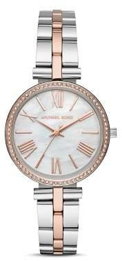 Michael Kors Maci Two-Tone Watch, 34mm