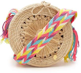 Soraya Hennessy The Fernanda Roundy Handwoven Shoulder Bag