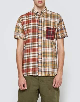 Beams Mad Crazy Short Sleeve Shirt