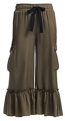 Cinq à Sept Women's Tous Les Jours Prisilia Cropped Cargo Pants