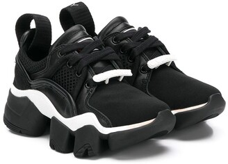 Givenchy Kids logo trainers