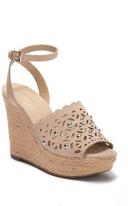 Marc Fisher Hata Cutout Wedge Sandal