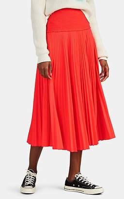 A.L.C. Women's Hedrin Pleated Skirt - Orange