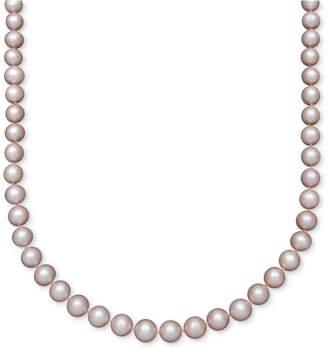 Belle de Mer Pearl Necklace, 14k Gold Pink Cultured Freshwater Pearl Strand (8-1/2-9-1/2mm)