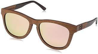 Earth Wood Cove Wood Sunglasses Polarized Wayfarer