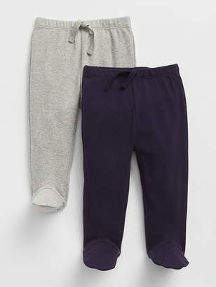 Gap First Favorite Footed Pull-On Pants (2-Pack)