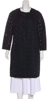 Sofie D'hoore Embroidered Knee-Length Coat