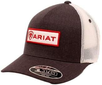 Ariat Men's Flexfit Mesh Patch Logo Cap