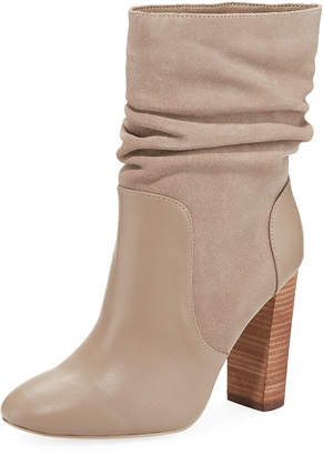 Charles David Indy High-Heel Scrunch Booties