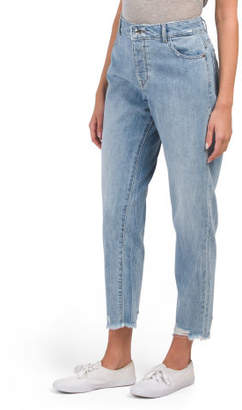 Goldi High Rise Tapered Mom Jeans