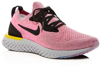 Nike Women's Epic React Flyknit Lace-Up Sneakers