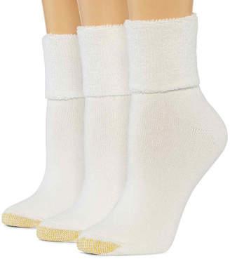 Gold Toe GoldToe 3-pk. Ultra Tec Turn-Cuff Socks