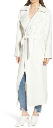 KENDALL + KYLIE Long Trench Coat