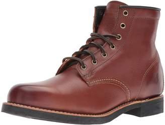 Frye Men's Arkansas Mid Lace Boot Redwood