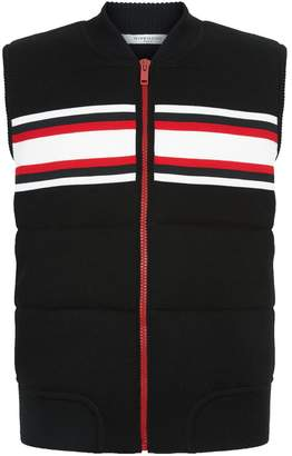 Givenchy Striped Knitted Gilet