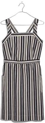 Madewell Apron Button Back Minidress