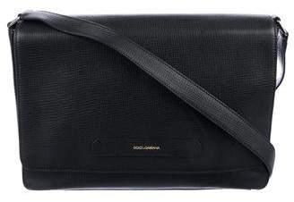 Dolce & Gabbana Vitello Palmellato Messenger Bag