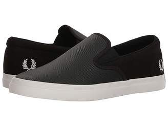 Fred Perry Underspin Slip-On Checkerboard Leather/Canvas