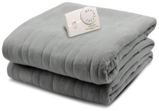 Biddeford Blankets Biddeford Comfort Knit Fleece Heated Electric Blanket