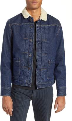 Levi's TM) Faux Shearling Lined Denim Jacket