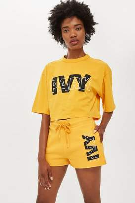 Ivy Park Layer Logo Crop T-Shirt