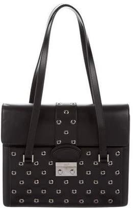 RED Valentino Patent Leather Shoulder Bag