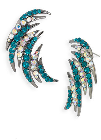 Guinevere Crystal Earrings