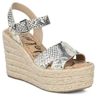 afd34862f535 Sam Edelman Women s Maura Espadrille Wedge Sandals