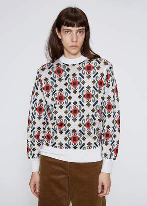 TOGA Archives Wool Jacquard Pullover