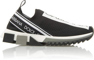 Dolce & Gabbana Jersey Sorrento Sneakers