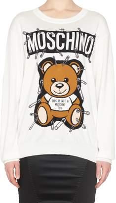Moschino 'teddy Pin' Sweatshirt