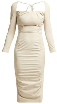 Altuzarra Colonia Stretch Twill Dress - Womens - Ivory