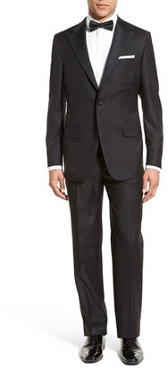 Men's Hickey Freeman Classic Fit Tasmanian Wool Tailcoat Tuxedo $1,695 thestylecure.com