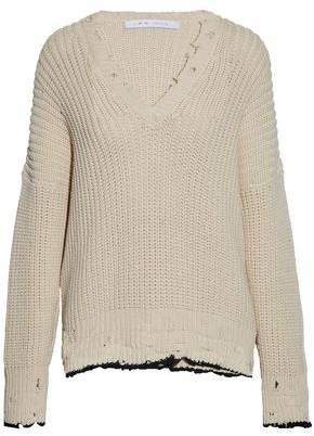 IRO Distressed Cotton Sweater