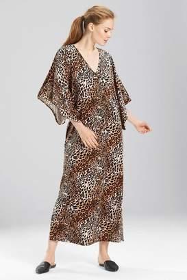 Natori N Lush Leopard Caftan