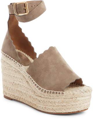 c82e06e7a7a Chloé Espadrille Wedge Women s Sandals - ShopStyle