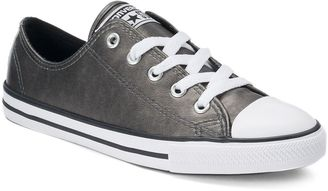 Women's Converse Chuck Taylor All Star Dainty Metallic Leather Shoes $65 thestylecure.com