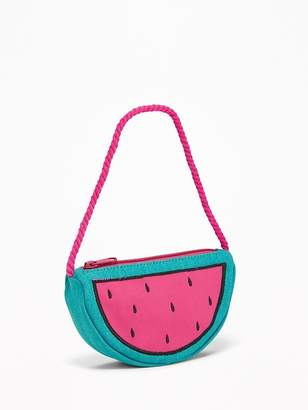 Old Navy Watermelon Canvas Bag for Toddler Girls