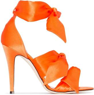 Couture Gia Katia 120mm bow sandals