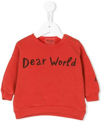 Bobo Choses Dear World sweatshirt