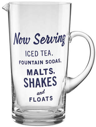 Kate Spade Orders Up Glass Pitcher