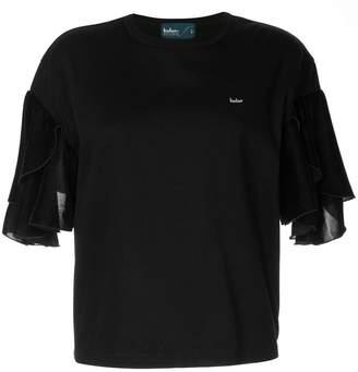 Kolor ruffle sleeve T-shirt